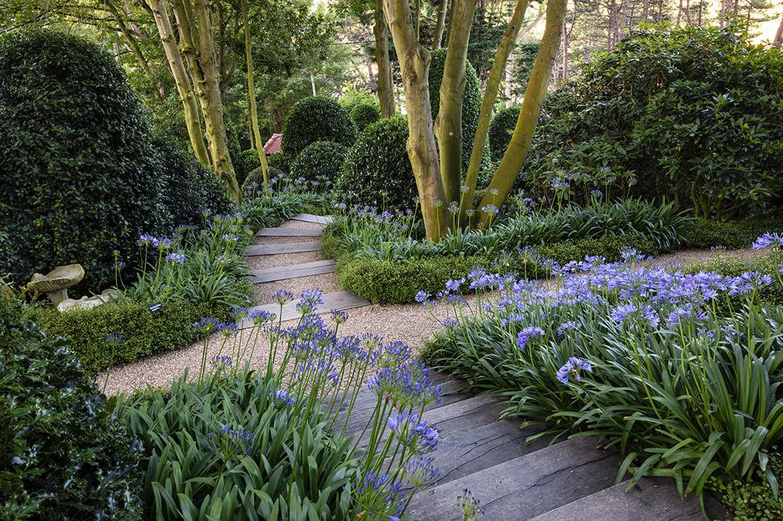 The Etretat Gardens Normandy La Manche France