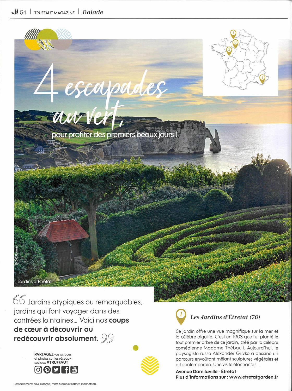 Les Jardins Du Moulin Paysagiste truffaut magazine